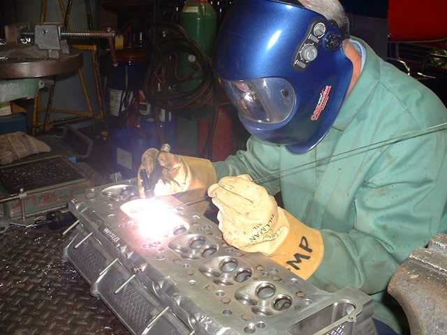Welding Bavarian Machine Specialties