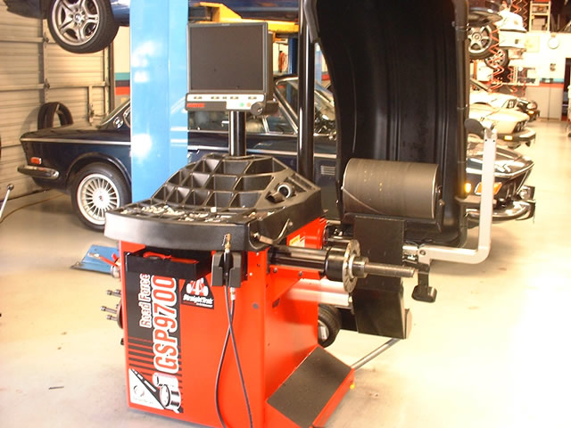 Tire Mounting And Balancing Bavarian Machine Specialties